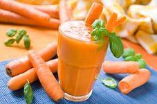 Свежевыжатый морковный сок во время беременности
