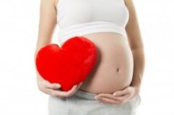 Боли в сердце во время беременности