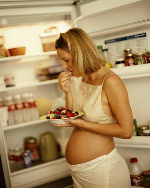 Хороший аппетит во время беременности